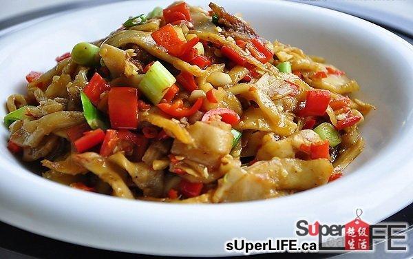 122土榨菜炒花肉