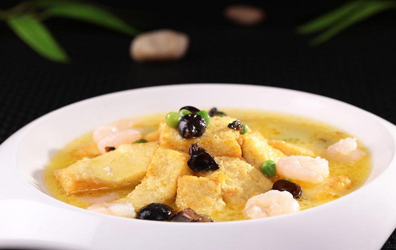 139养颜虾仁烩豆腐